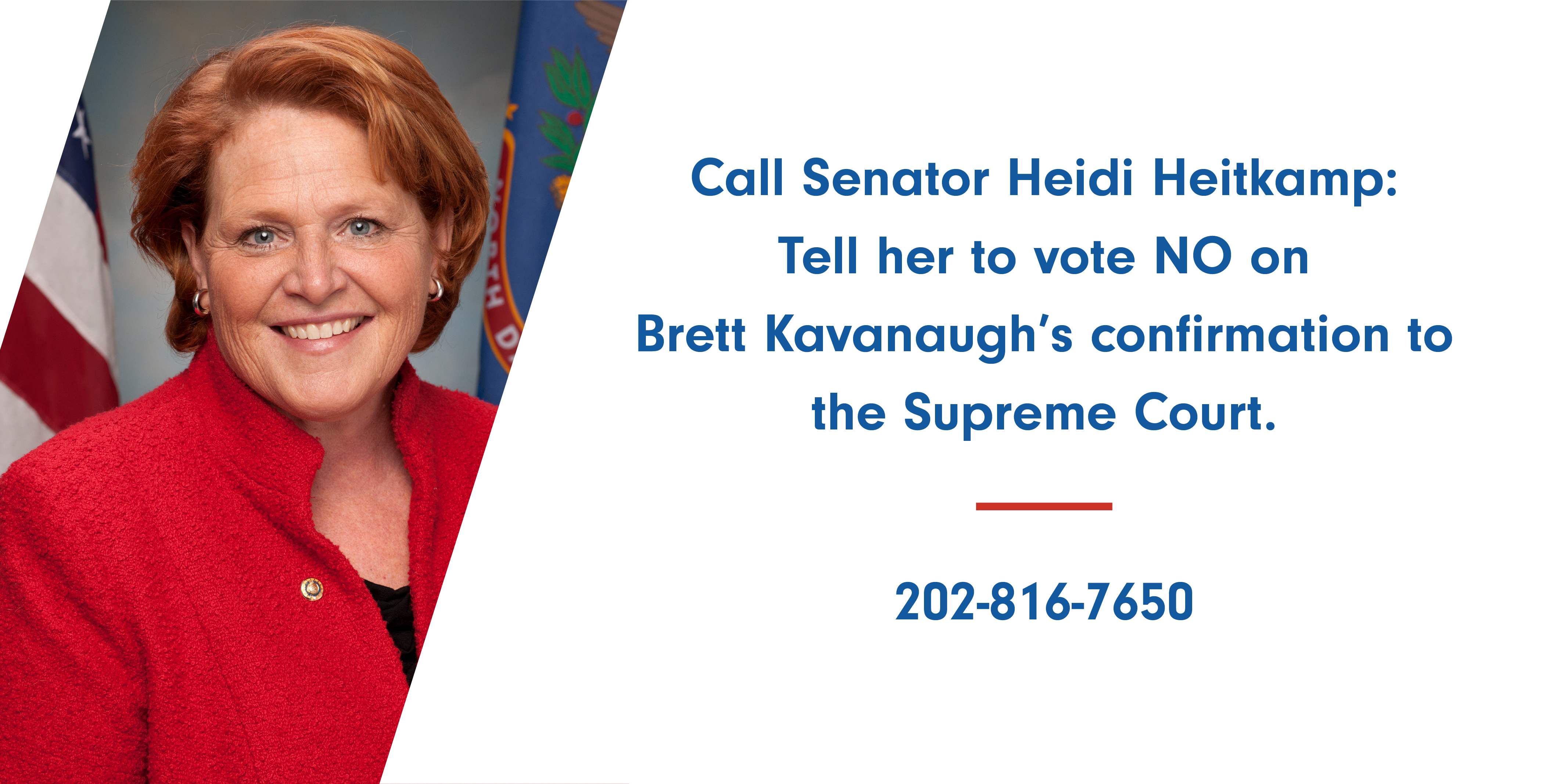 Watch Heidi Heitkamp to vote no on Brett Kavanaugh video